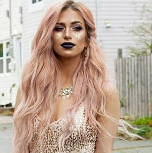 Pink Beauty Lace Front Wig